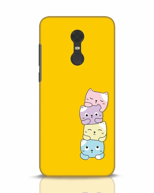 Shop Kitty Cats Xiaomi Redmi Note 5 Mobile Cover-Front