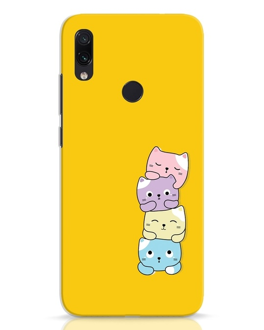 Shop Kitty Cats Xiaomi Redmi Note 7 Mobile Cover-Front