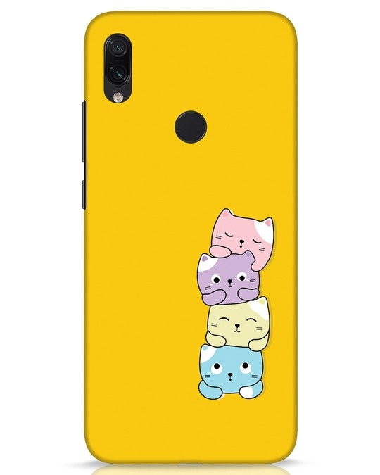 Shop Kitty Cats Xiaomi Redmi Note 7s Mobile Cover-Front