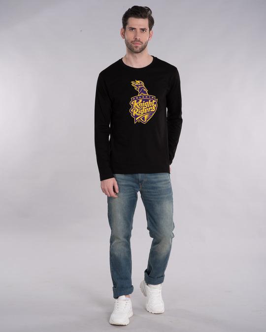 Shop Kkr Logo Full Sleeve T-Shirt-Design