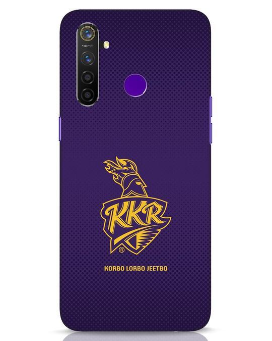 Shop Kkr Logo Gradient Realme 5 Pro Mobile Cover-Front