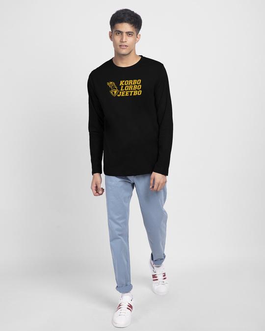 Shop KLG Logo Full Sleeve T-Shirt-Design