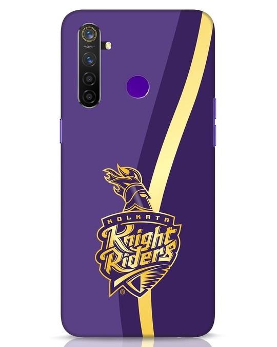 Shop Knight Riders Gradient Realme 5 Pro Mobile Cover-Front