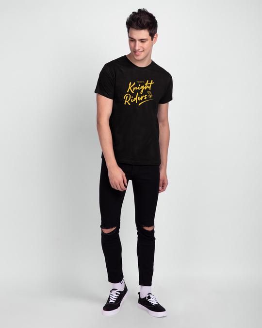 Shop Knight Riders Half Sleeve T-Shirt-Design