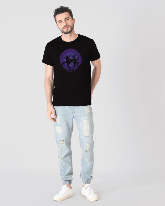 Shop Knight Riders Sigil Half Sleeve T-Shirt-Design
