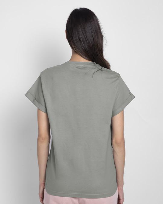 Shop Knights Of Eden  Boyfriend T-Shirt-Back