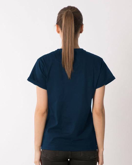 Shop Koi Jugaad Hai Kya Boyfriend T-Shirt-Full