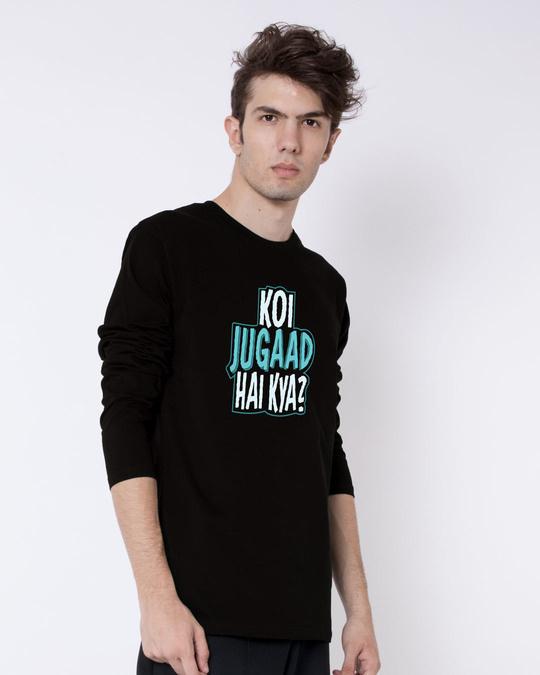 Shop Koi Jugaad Hai Kya Full Sleeve T-Shirt-Back