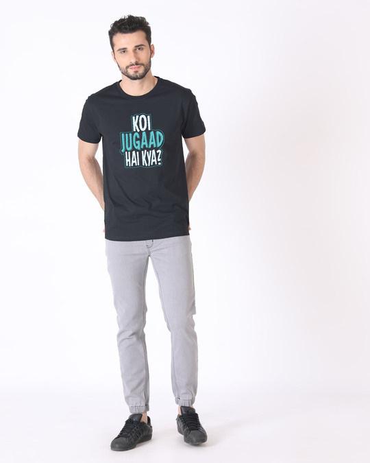 Shop Koi Jugaad Hai Kya Half Sleeve T-Shirt