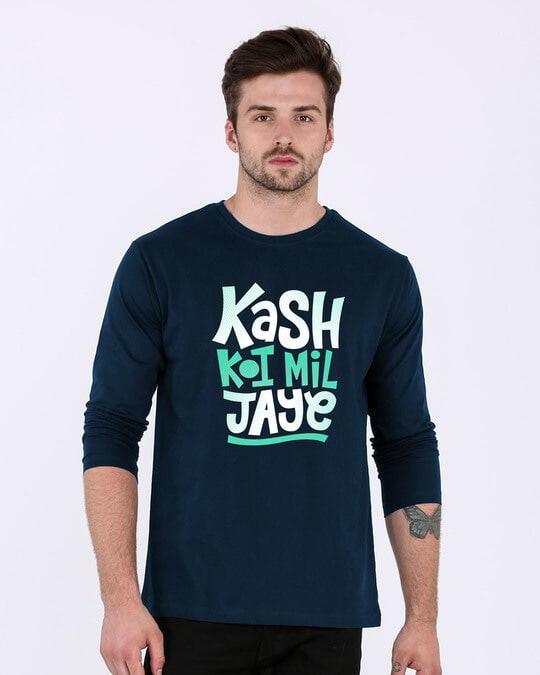 Shop Koi Mil Jaye Full Sleeve T-Shirt-Front