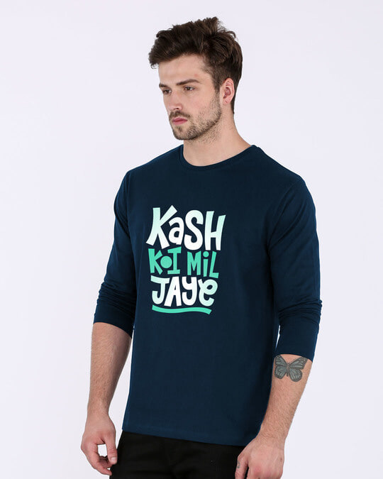 Shop Koi Mil Jaye Full Sleeve T-Shirt-Back