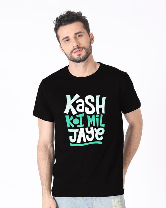 Shop Koi Mil Jaye Half Sleeve T-Shirt-Back