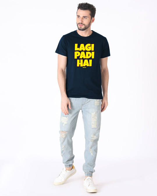 Shop Lagi Padi Hai Half Sleeve T-Shirt-Design