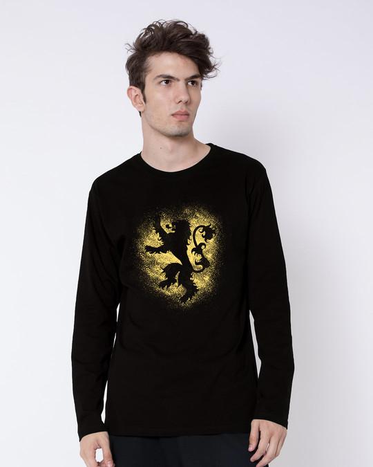 Shop Lannister Grunge Full Sleeve T-Shirt (GTL)-Front