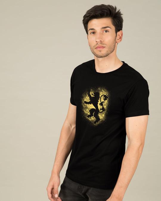 Shop Lannister Grunge Half Sleeve T-Shirt (GTL)-Full