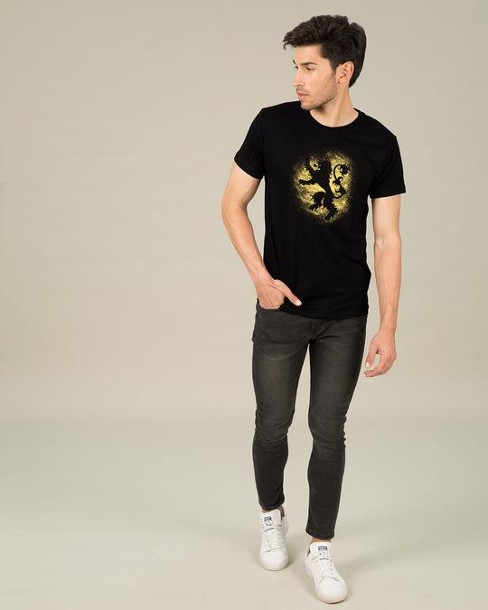 Shop Lannister Grunge Half Sleeve T-Shirt (GTL)