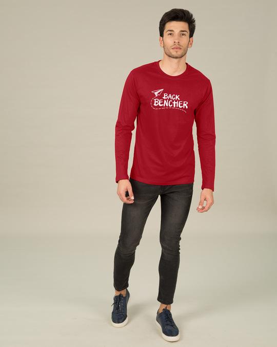 Shop Last Bencher Full Sleeve T-Shirt-Full
