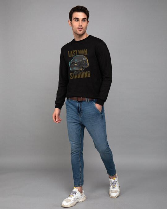 Shop Last Man Standing Fleece Light Sweatshirts-Design