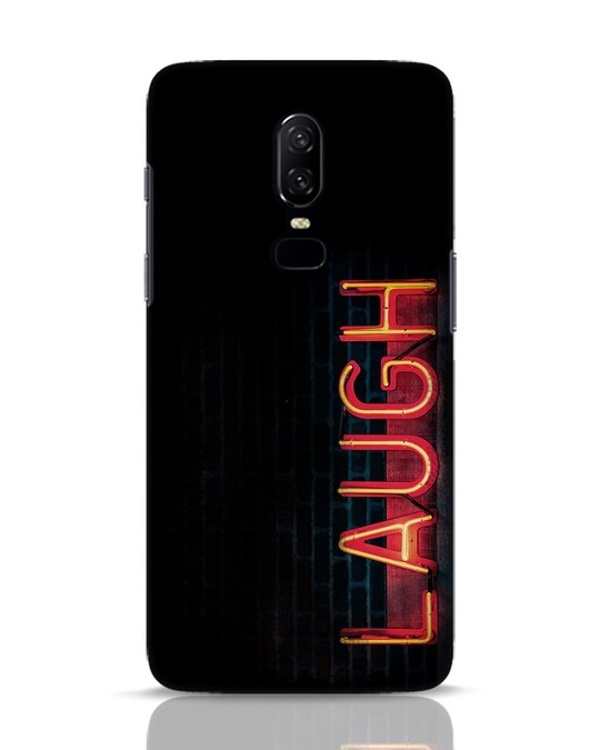 Shop Laugh OnePlus 6 Mobile Cover-Front