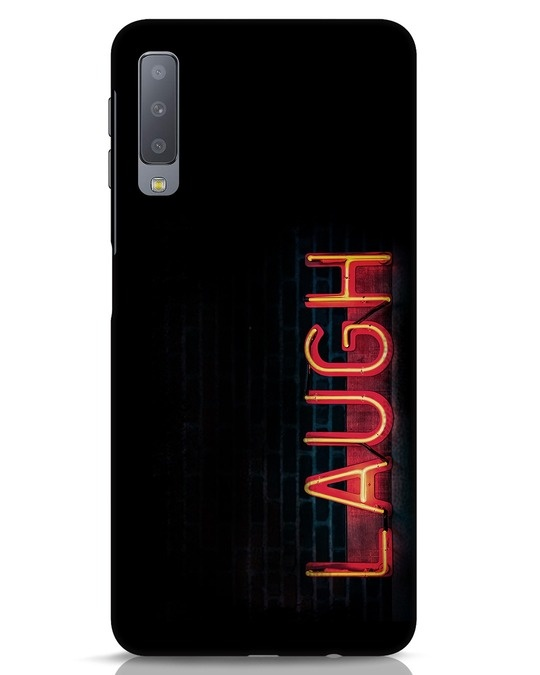 Shop Laugh Samsung Galaxy A7 Mobile Cover-Front