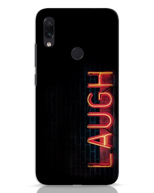 Shop Laugh Xiaomi Redmi Note 7 Mobile Cover-Front