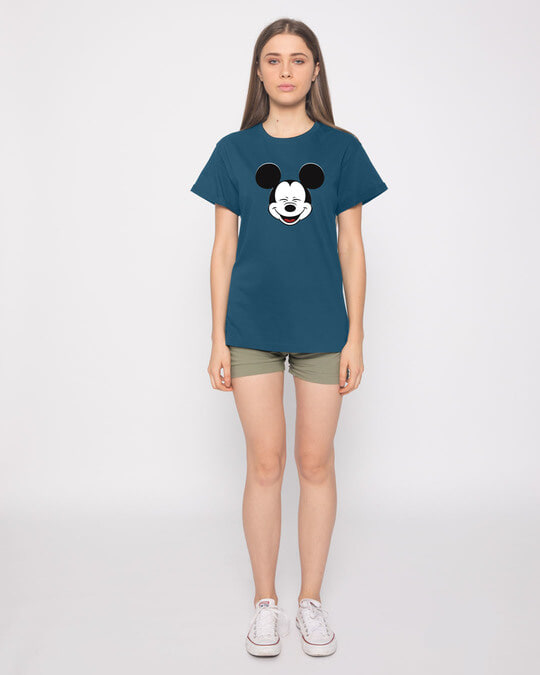 Shop Laughing Mickey Boyfriend T-Shirt (DL)
