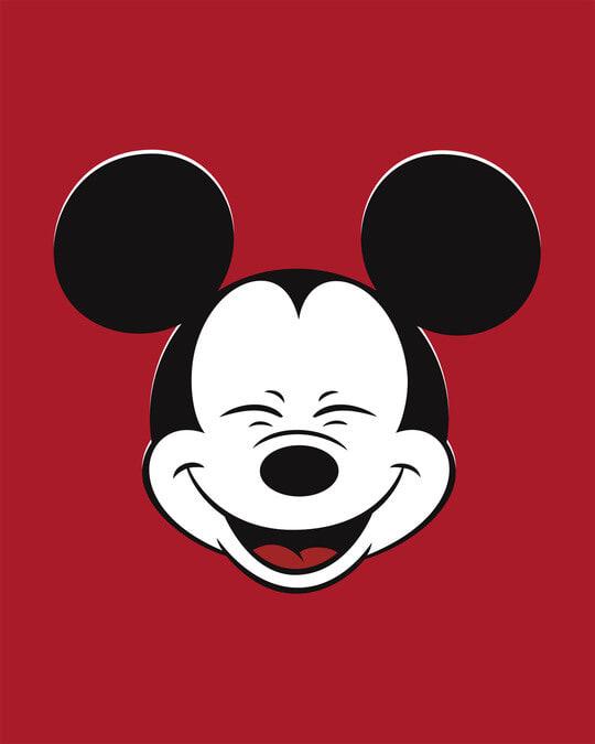Shop Laughing Mickey Boyfriend T-Shirt (DL)