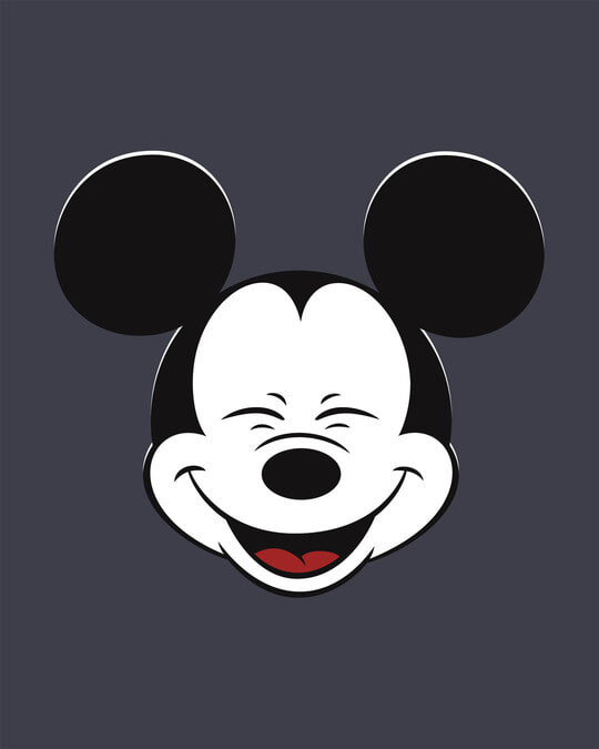 Shop Laughing Mickey Full Sleeve T-Shirt (DL)