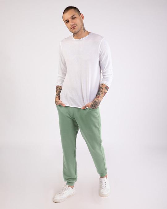 Shop Laurel Green Casual Jogger Pant-Full