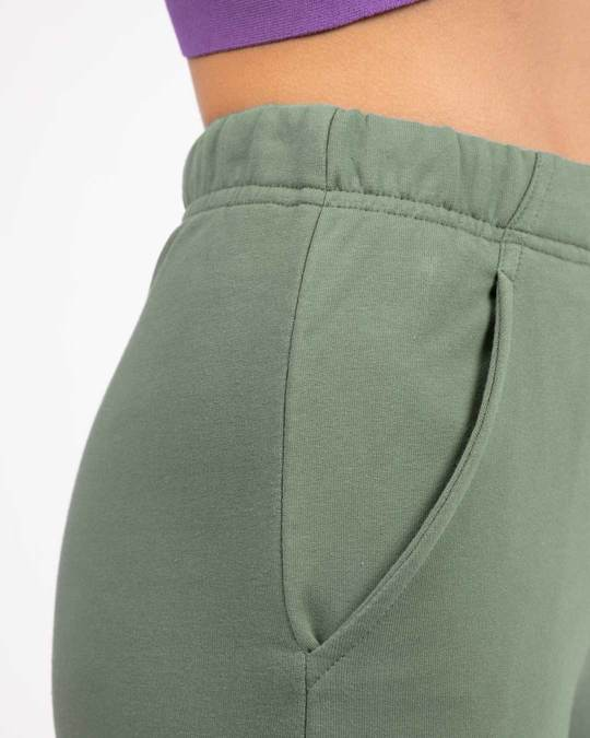 Shop Laurel Green Fleece Joggers