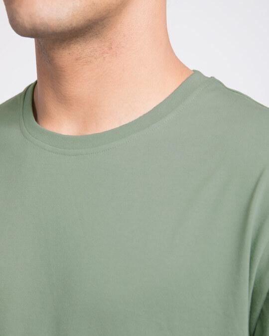 Shop Laurel Green Half Sleeve T-Shirt