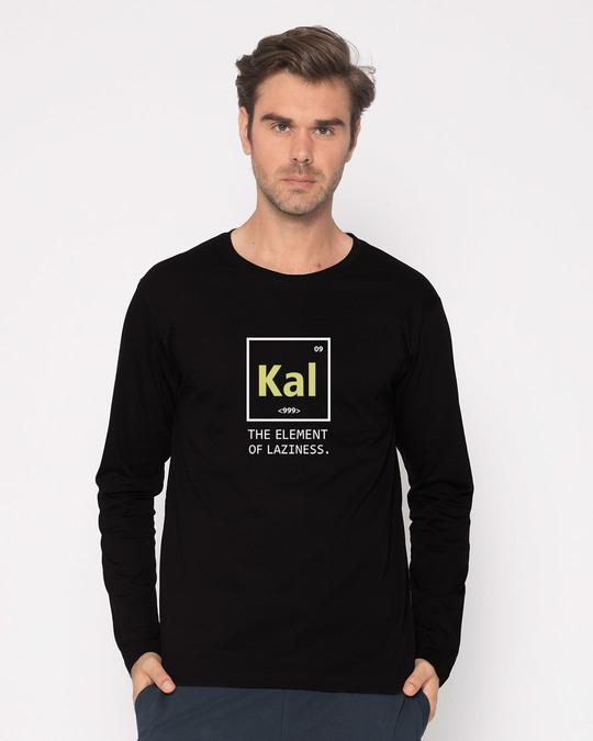 Shop Lazy Kal Full Sleeve T-Shirt-Back