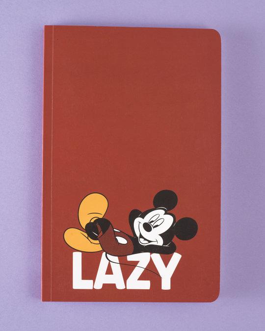 Shop Lazy Mickey Notebook (DL)-Front
