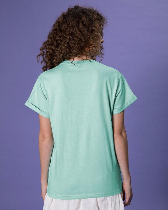 Shop Lazy Mickey Boyfriend T-Shirt (DL)-Back