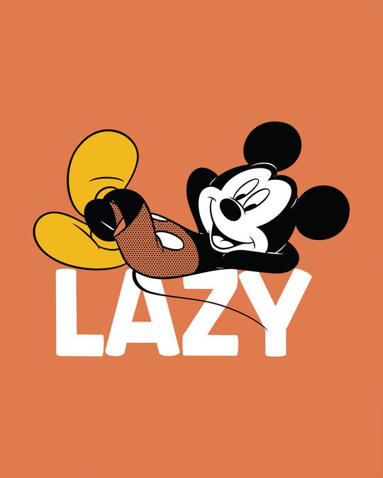 Shop Lazy Mickey Crew Neck Sweatshirt (DL)-Full