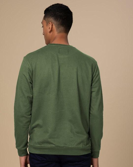 Shop Lazy Mickey Fleece Light Sweatshirt (DL)-Back