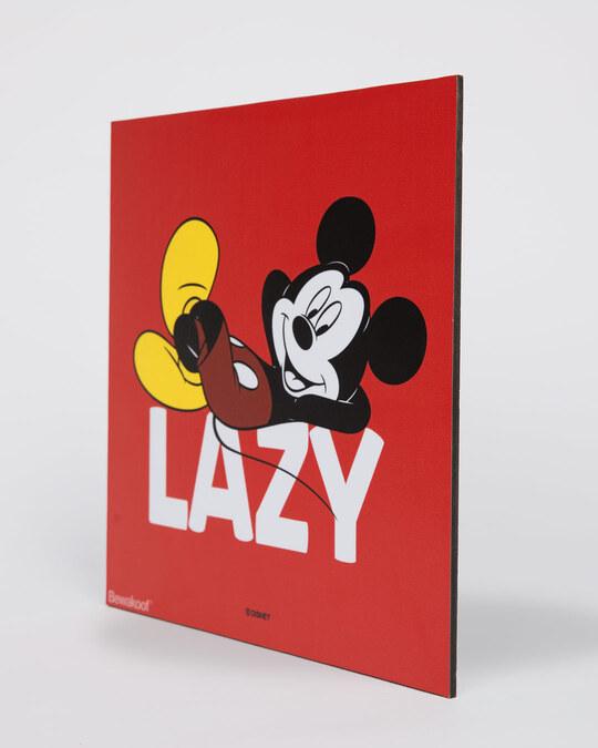Shop Lazy Mickey Designer Wall Frame-Back