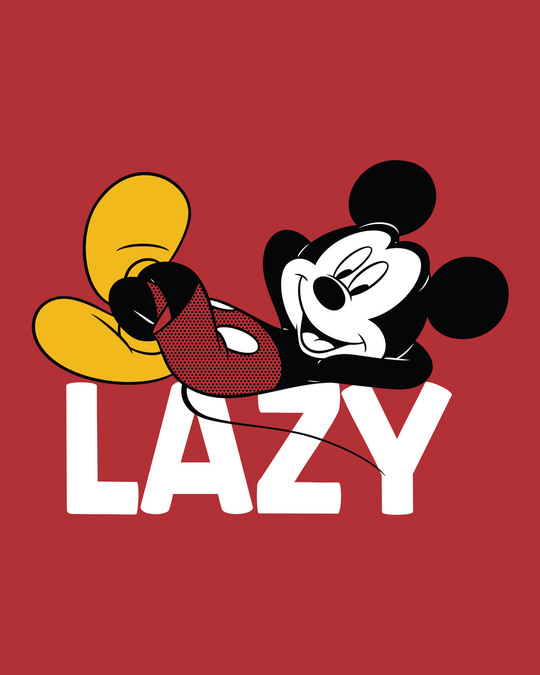 Shop Lazy Mickey Side Printed Boxer (DL)
