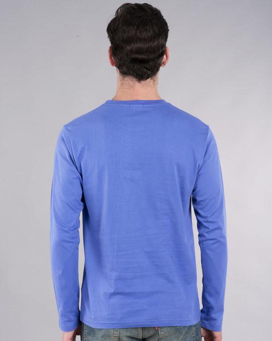 Shop Lazy Mr. Doe Full Sleeve T-Shirt-Back