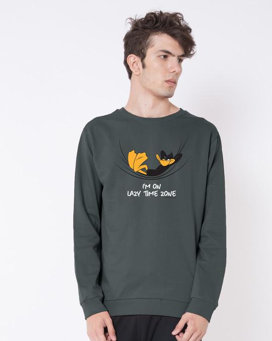 Shop Lazy Timezone Fleece Sweaters (LTL)-Front