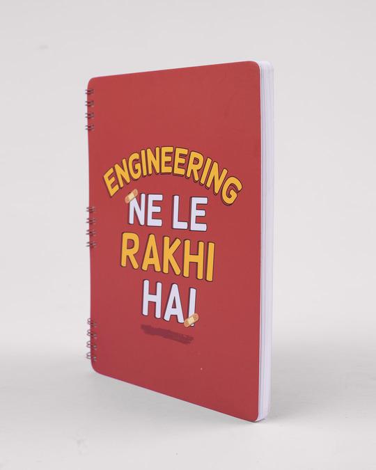 Shop Le Rakhi Hain Spiral Notebook-Full