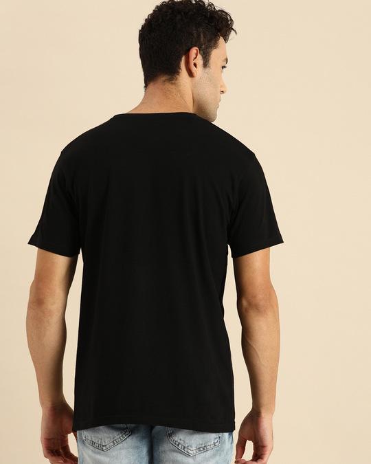 Shop Leader Half Sleeve T-Shirt Black-Design