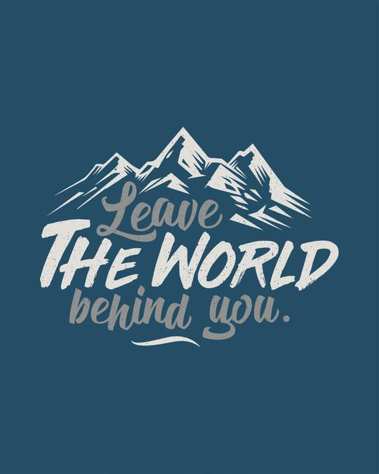 Shop Leave The World Boyfriend T-Shirt