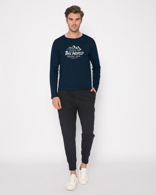 Shop Leave The World Full Sleeve T-Shirt