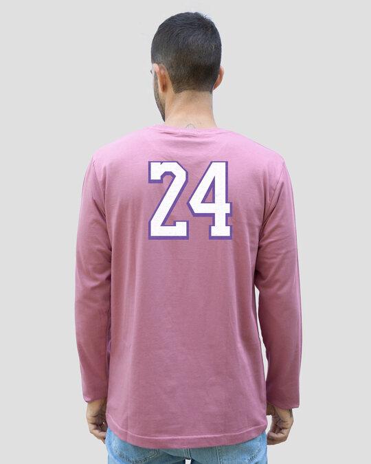 Shop Legend 24 Full Sleeve T-Shirt Frosty Pink-Design