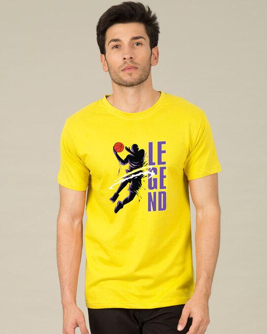 Shop Legend 24 Half Sleeve T-Shirt-Back
