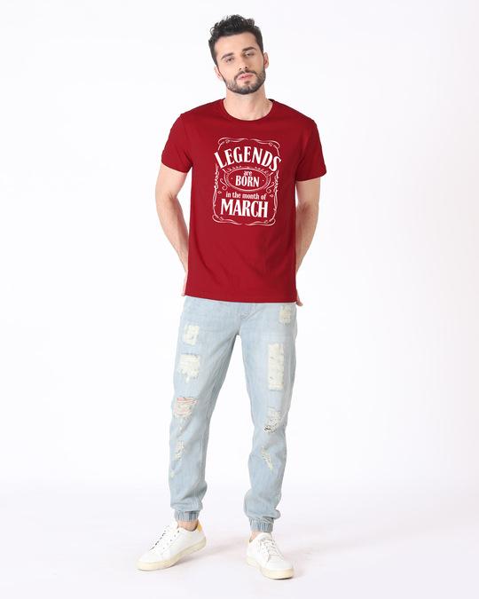 Shop Legend Daniels March Half Sleeve T-Shirt-Design
