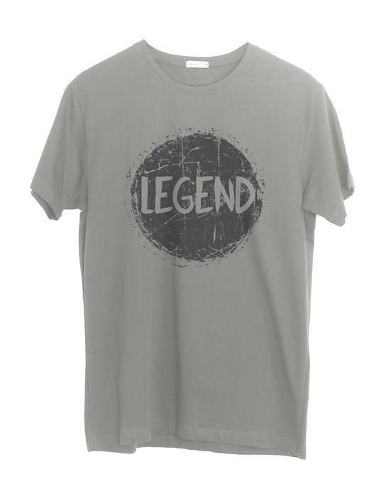 Shop Legend Dark Half Sleeve T-Shirt-Front