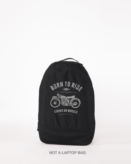 Shop Legend On Wheels Small Backpack-Front