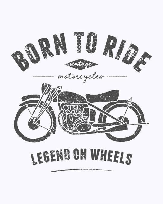 Shop Legend On Wheels Full Sleeve T-Shirt
